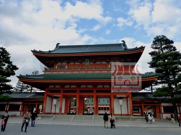 日本京都平安神宮Japan Kyoto Heian Jingu Shrine