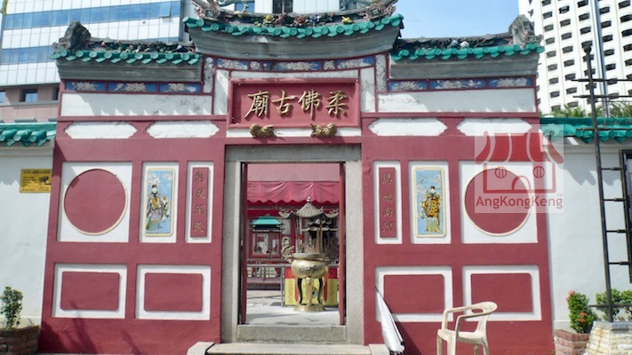 柔佛古庙Johor Old Chinese Temple Building1