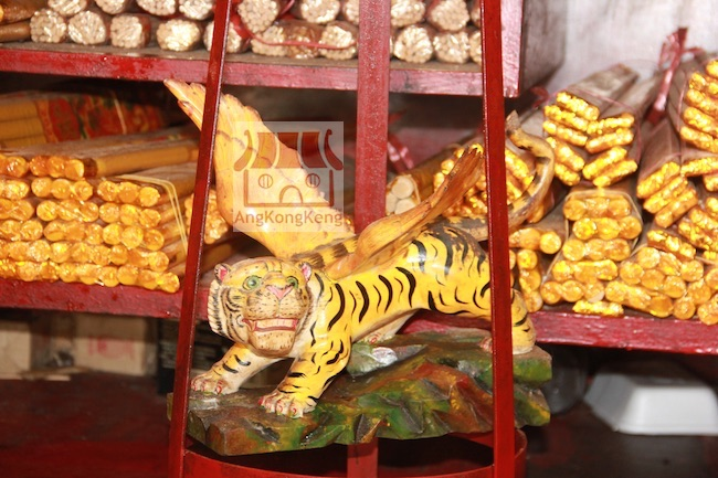吉隆坡怡保路万寿亭观音庙KL Ban Siew Teng Guan Yin Temple Flying Tiger God
