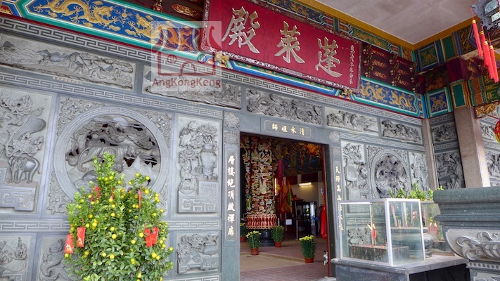 彭亨云顶高原清水岩庙Pahang Genting Highlands Chin Swee Caves Temple Building1