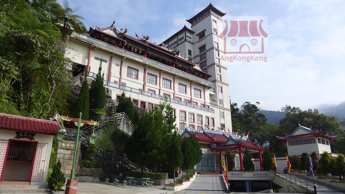 彭亨云顶高原清水岩庙Pahang Genting Highlands Chin Swee Caves Temple Building10