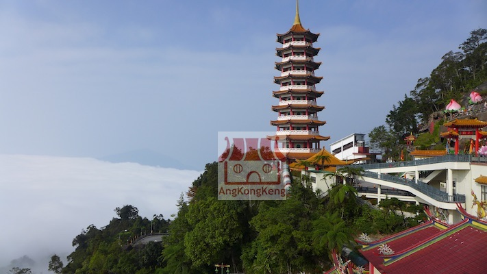 彭亨云顶高原清水岩庙Pahang Genting Highlands Chin Swee Caves Temple Building11