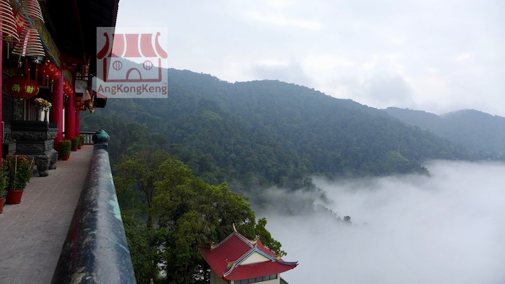 彭亨云顶高原清水岩庙Pahang Genting Highlands Chin Swee Caves Temple Building3